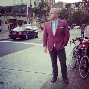 Vintage Jacket, Street Style Look Philadelphia