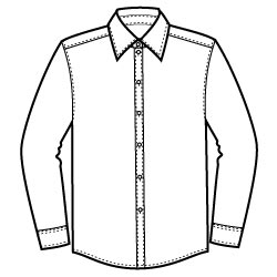 Dress Shirt Graphic