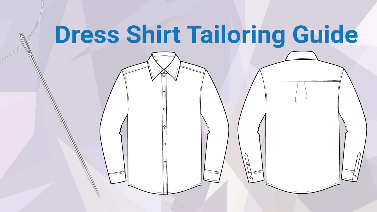 Dress shirts what can and can 39 t be tailored guide for Cost to tailor a shirt