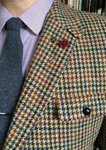 Tweed Shooting Jacket With Accessories