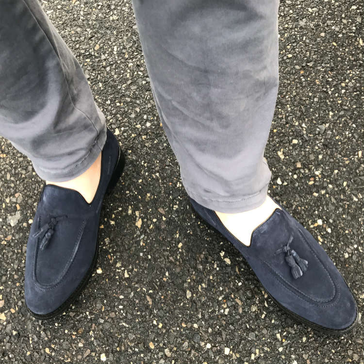 How To Pair Navy Blue Shoes With Different Trousers ...
