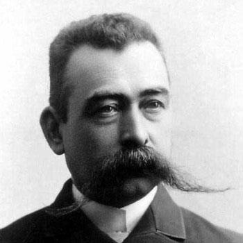 Carl Frederik Holm Vintage Hungarian Handlebar Moustache