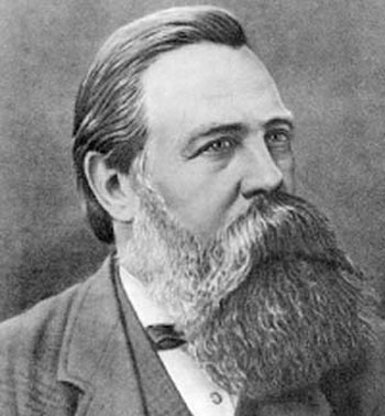 Friedrich Engels Full Beard