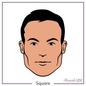 What is a man's Square face shape?