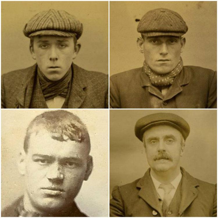 Peaky Blinders Salford Scuttlers Manchester Mug Shots