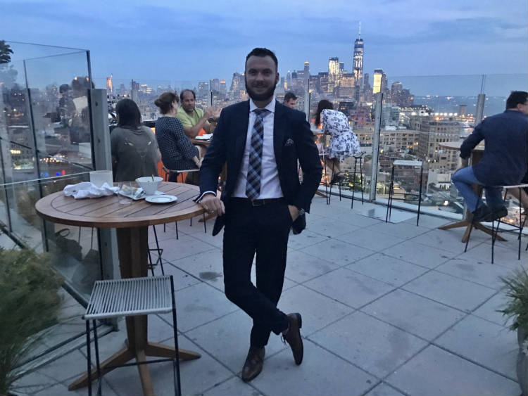 Trevor Guilday At The Standard Hotel Rooftop Bar