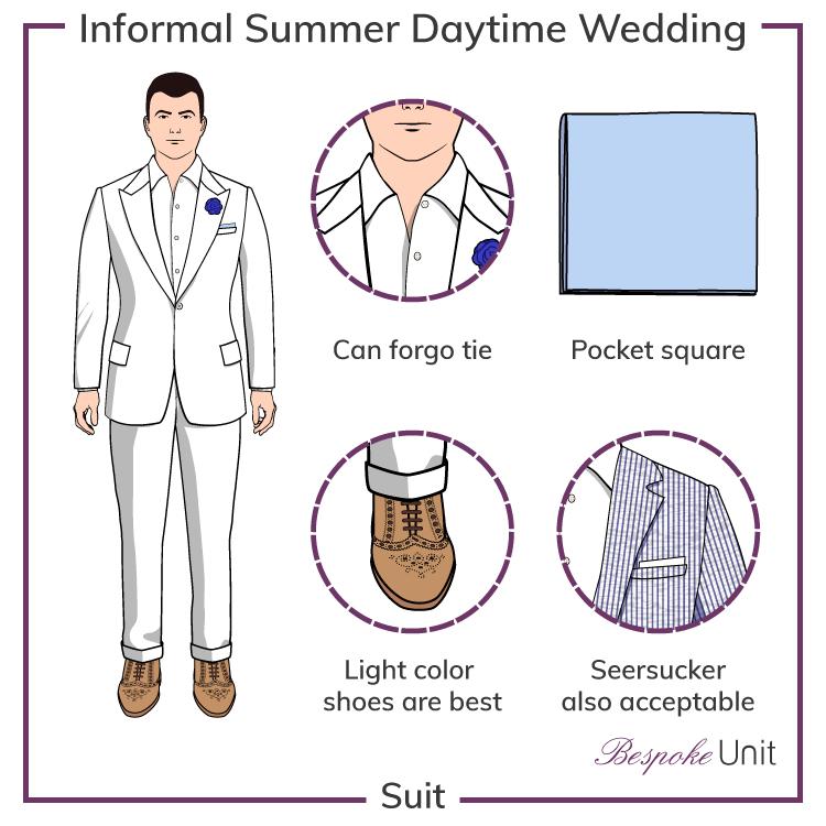 Summer-Informal-Daytime-Wedding-Attire