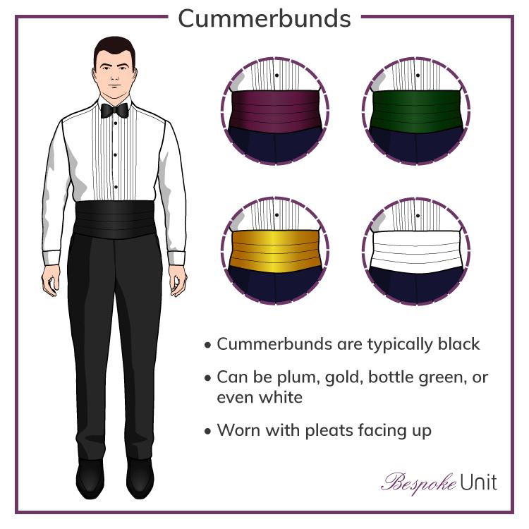 Black-Tie-Cummerbunds