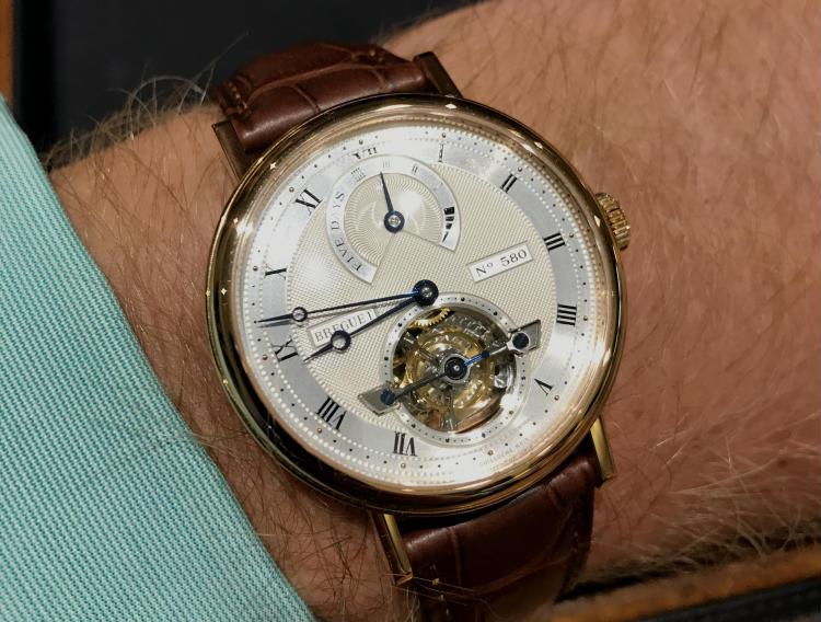 Breguet 5 Day Power Reserve Tourbillon Wristwatch