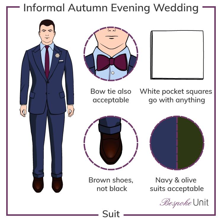 Autumn-Informal-Evening-Wedding-Attire