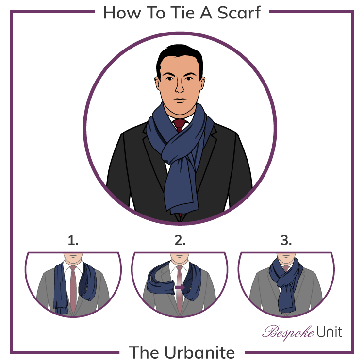 How To Tie A Simple Scarf Knot