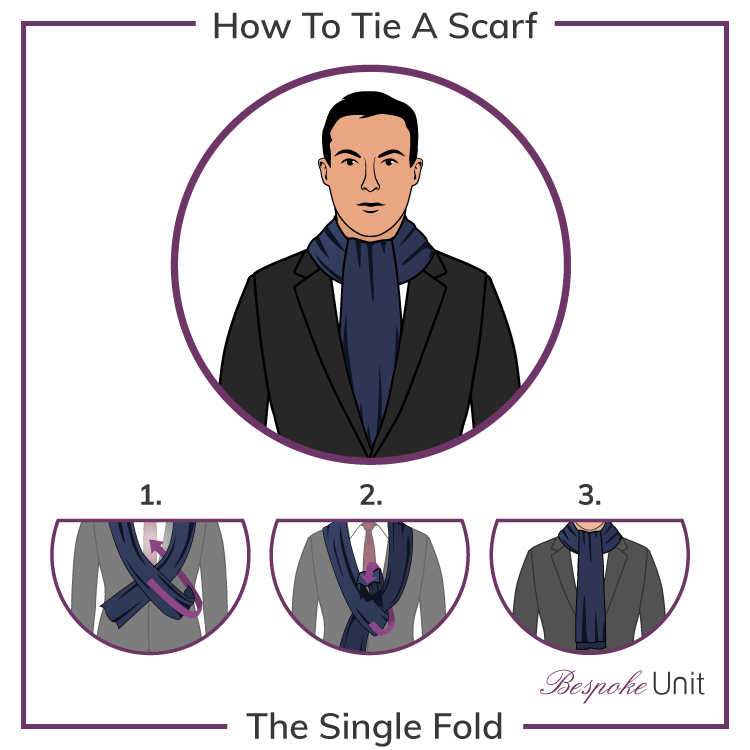 How To Tie A Single Fold Scarf