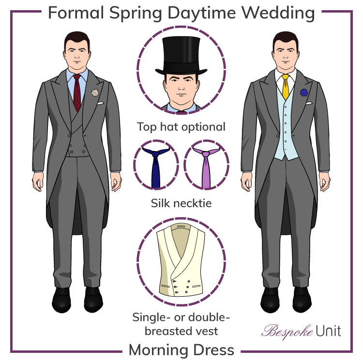 Gentleman\'s Guide To Spring Weddings | Suits & Colors For Grooms