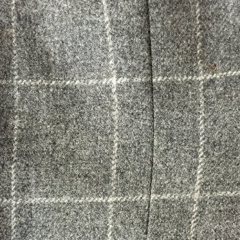 grey windowpane fabric