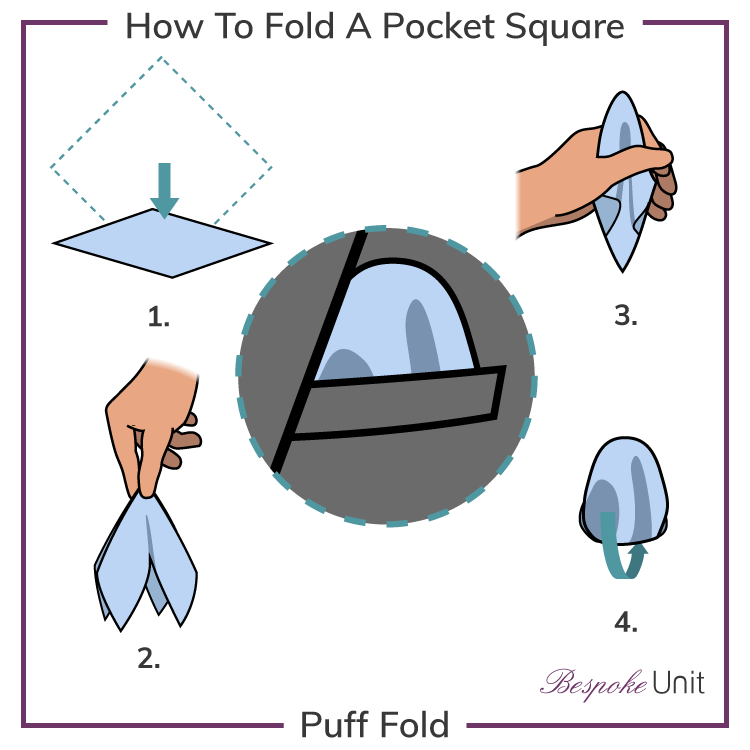 how-to-fold-a-pocket square puff
