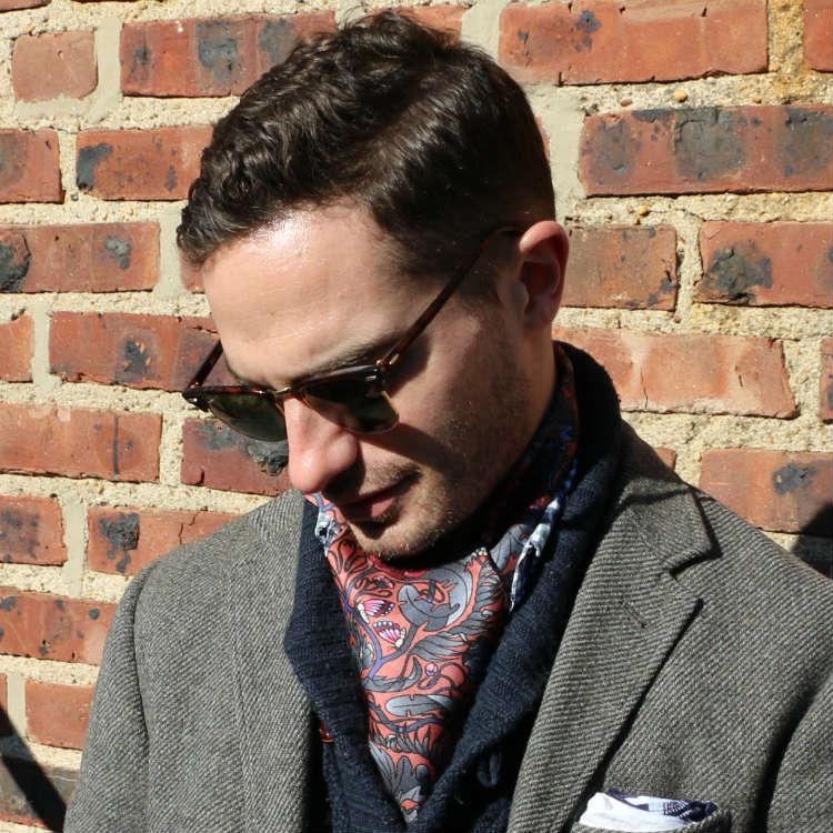 man in neckerchief