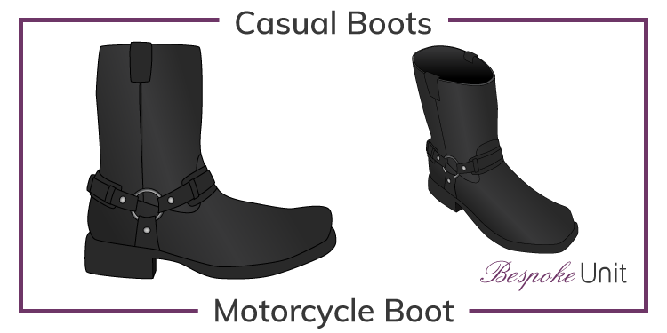 Motorcycle-Boot-Graphic