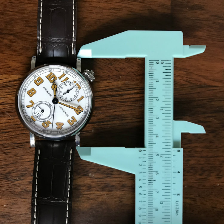 49mm lug to lug size - Longines Avigation Type A-7 1935